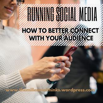 running social media